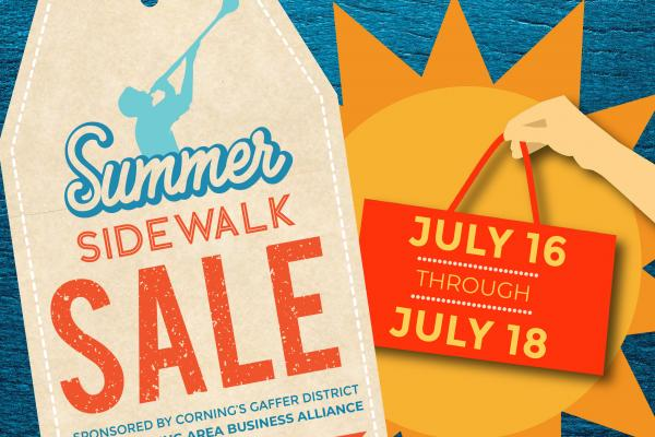 Merchants around the Gaffer District will participate in this year's summer sale on Friday, July 16 through Sunday, July 18.