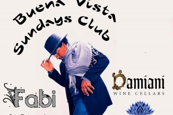 Buena Vista Sundays Club banner.