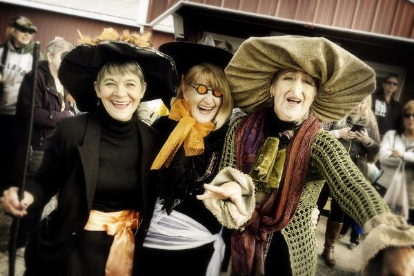 The Dancing Witches of The Southern Tier