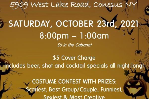 Beachcomber Halloween Party October 23rd