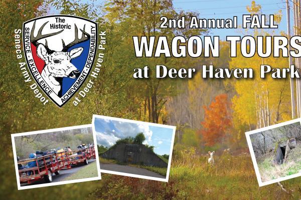 Fall Wagon Tour through The Historic Seneca Army Depot at Deer Haven Park