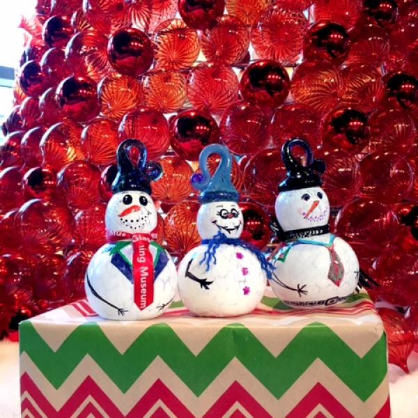Make Your Own Glass Snowpeople
