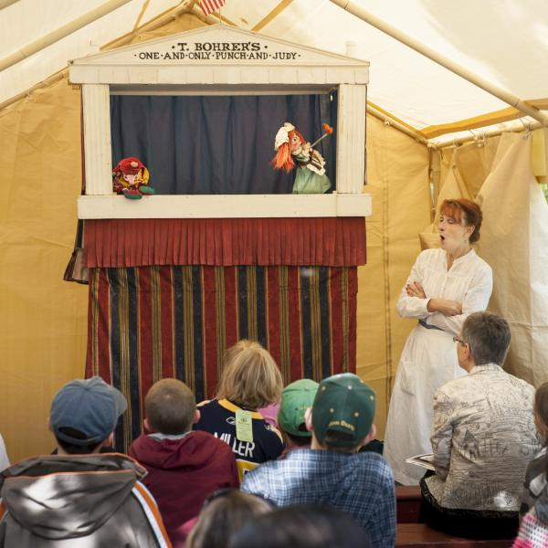 ag fair punch and judy show