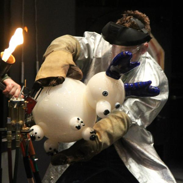 Hot Glass demonstrations