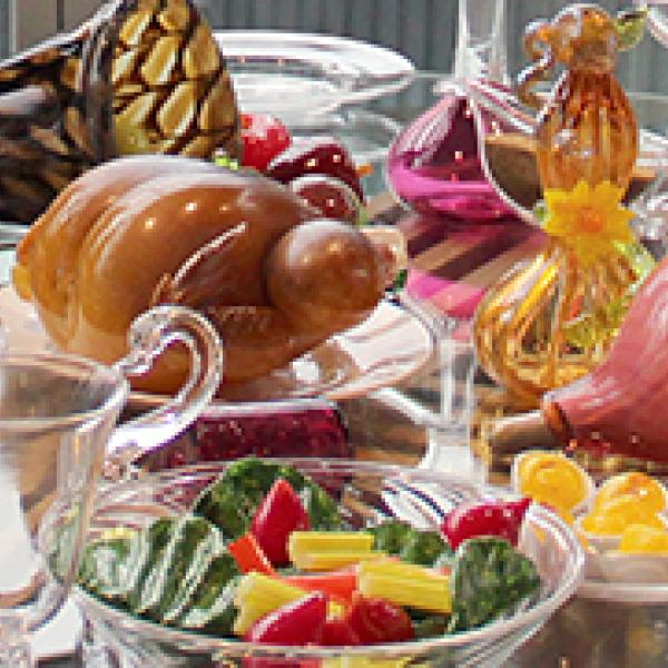 Glass Feast, made by Hot Glass Show team