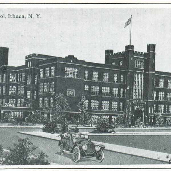 Ithaca's DeWitt Mall was once a school.