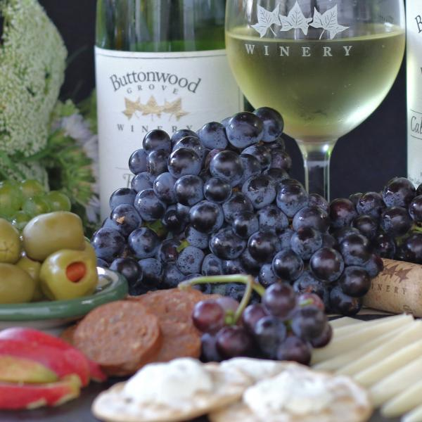 Buttonwood Grove food and wine pairings