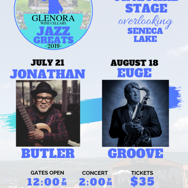 Jazz Greats at Glenora Wine Cellars