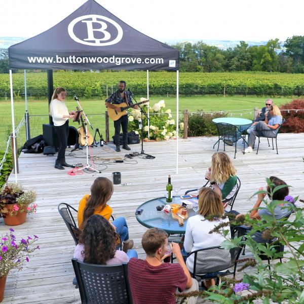Lub Dub Acoustic Duo at Buttonwood Grove