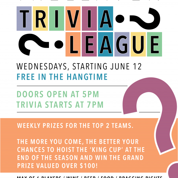 Treleaven Trivia League Flyer