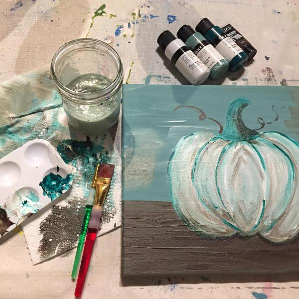 Paint a pumpkin at ReFIND