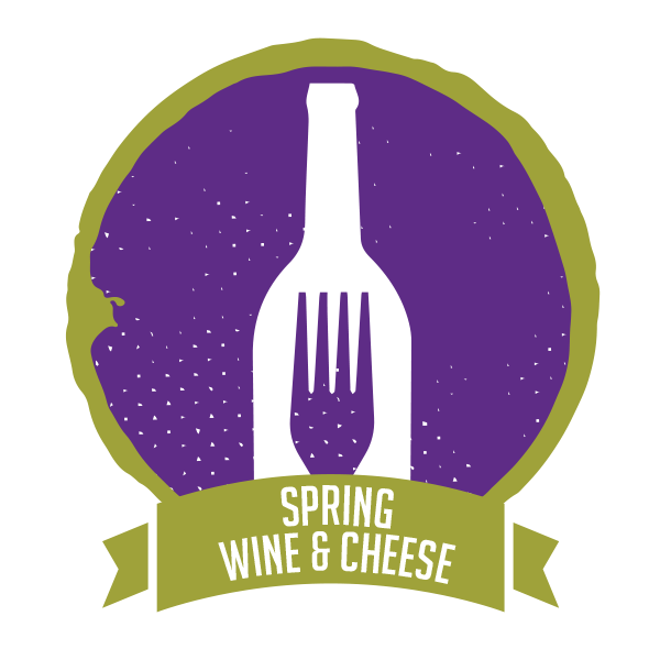 Spring Wine & Cheese event