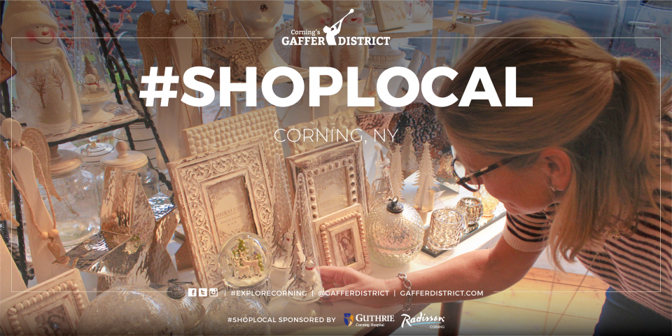 Shop local corning Gaffer District with clay frames